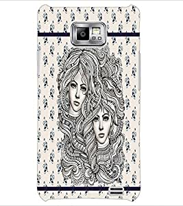 PrintDhaba Artwork D-3806 Back Case Cover for SAMSUNG GALAXY S2 (Multi-Coloured)