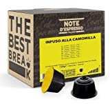 Note d'Espresso - Camomille - Capsules d'Infusion - Exclusivement Compatible avec les Machines NESCAFE* DOLCE GUSTO* - 48 cap