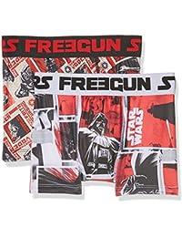 Star Wars Jungen Boxershorts Starwars Freegun Boxer Pack X2, 2