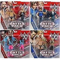 Completo Juego de 4 WWE Battle Pack Serie 46 Figura de acción - Uno De Cada INCLUIDO