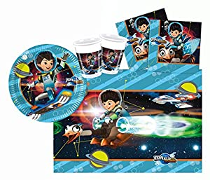 Procos 10110292B - Kinderpartyset, Disney Miles de Mañana, tamaño S, 37 piezas, colorido