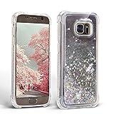 Mosoris Coque pour Samsung S7 Glitter Liquide 3D TPU Etui S7 Transparente Souple...