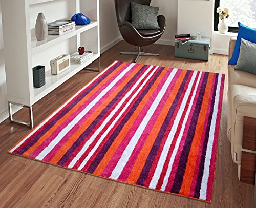 Saral Home Premium Quality Soft Microfiber Floor Carpete- 150x210 cm