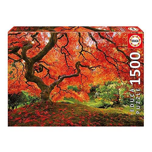 Educa 16310 - Puzzle 1500 Pezzi, Tematica Giardino Giapponese