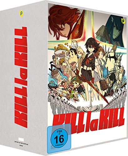 Kill la Kill - Box Vol.1 + Sammelschuber [2 DVDs] [Limited Edition] (Mako-uniform)