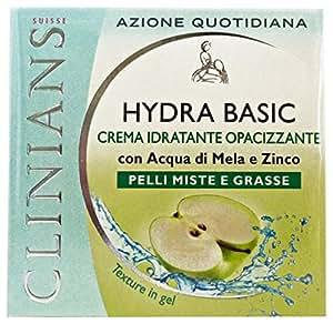 hydra basic crema idratante opacizzante pelli miste e grasse 50 ml