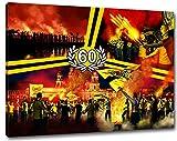 Dresden Geburtstag Sechzig Format: 120x80, Bild auf Leinwand XL, fertig gerahmt