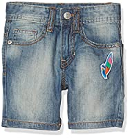 United Colors of Benetton Boy's Bermuda Shorts, Blue (Light Blue), 8-9 Years (Manufacturer Size:Large)