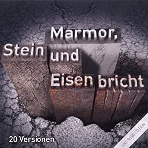 One Song ed.Marmor,Stein & Eund Eisen Bricht. [Import allemand]