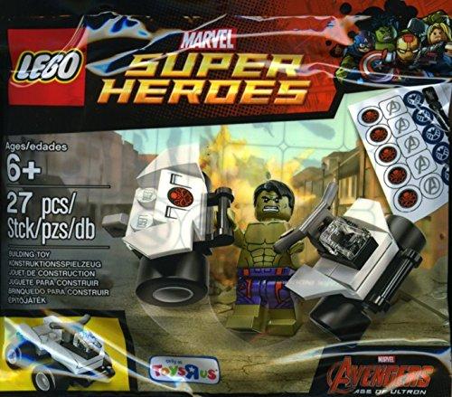 e Avengers Der Hulk mit Auto Polybag 5003084 ()