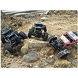 Rock Crawler 1:18 Scale 4WD 2.4 Ghz 4x4 Rally Racing Car Remote Control Mini Rocking Car Green OfferZone