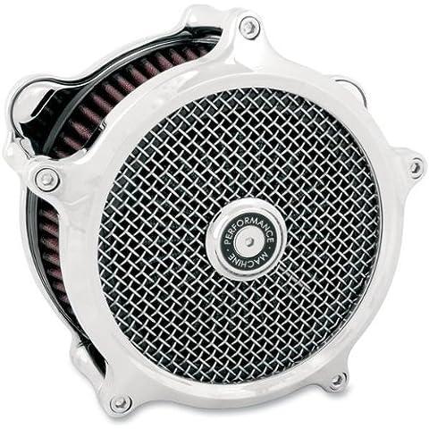 Performance Machine Super Gas Filtro aire cromo (Harley Davidson XL 1991-2011)