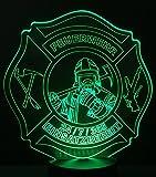 Feuerwehr LED Leuchte Lampe Nachtli...
