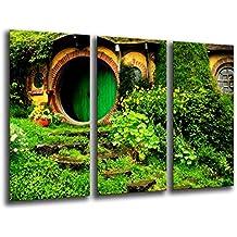 Cuadro Moderno fotografico base madera, 97 x 62 cm, El Señor De Los Anillos ref. 26142