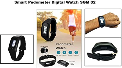 House Of Gifts Fitness Tracker Heart Rate Smart Watch Swimming Waterproof Pedometer Wristband