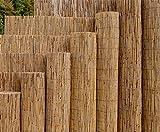 Schilfrohrmatten Premium 'Beach', 200 hoch x 600cm breit, ein Produkt von bambus-discount - Sichtschutz Matten Windschutzmatten …