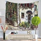 Tappezzeria creativa, tappezzeria della carta del mondo, tappeto da spiaggia della tappetina della spiaggia di arazzi della decorazione della parete di 150 * 130, D