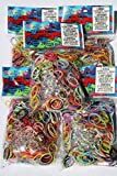Official Rainbow Loom Bands- Value Pack Of 3000 Mix Bands And 120 C-Clips