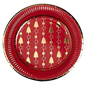 Neviti 772195deslumbrante Navidad-platos