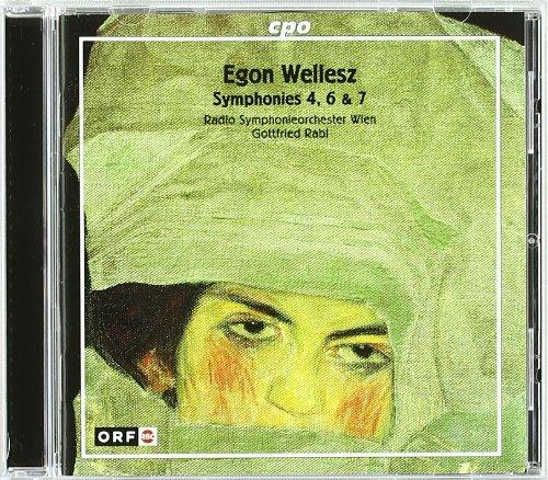 Egon Wellesz, Symphonien Nr. 4, 6,7