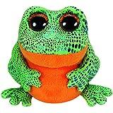 TY 36123 - Speckles Frosch mit Glitzeraugen, glitzerndem Rücken und Beinen, Glubschi's, Beanie Boo's, 15 cm, grün