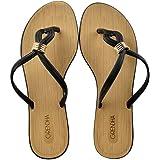 GRENDHA 17624 Black 90058 Flip Flops