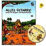 Guitarra todo. Guitarra–Escuela de Burkhard wolters para grupos de Instrucción y único con CD y Dunlop Púa/Schott Music ed21710–509783795747916