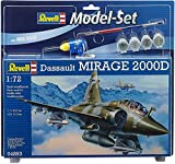 Revell - 64893 - Maquette D'aviation - Mirage 2000d - 74 Pièces - Echelle 1/72...
