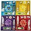 Incense and Candle Gift Set - Elephant Burner, Incense Sticks, Incense Cones, Burner Dish and a Flower Candle.