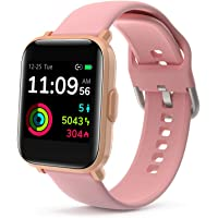 LIDOFIGO Smartwatch,Fitness Tracker mit Pulsuhren,1.3 Zoll Farb Touchscreen Fitness Armbanduhr Wasserdicht IP68 Fitness…