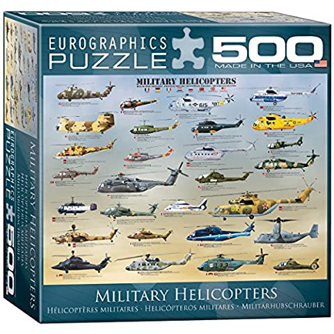 Eurographics Military Helicopters MO Puzzle (500 Pieces)