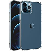 NEW'C - Cover protettiva per iPhone 12 Pro Max (6,7 pollici), ultra trasparente, in silicone gel TPU morbido…