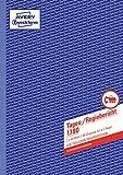 Avery Zweckform 1780 Tages-/Regiebericht (A4, selbstdurchschreibend, 2x40 Blatt) weiß/gelb