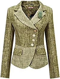 Joe Browns Womens Fitted Button Up Jacket With Removable Corsage