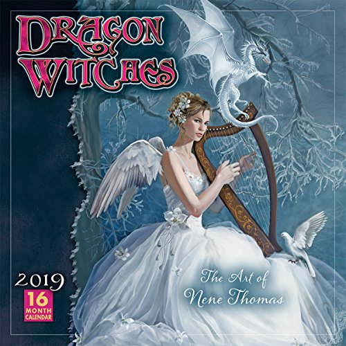 Comic Kostüm Hexe - 2019 Dragon Witches the Art of Nene Thomas 16-Month Wall Calendar: By Sellers Publishing
