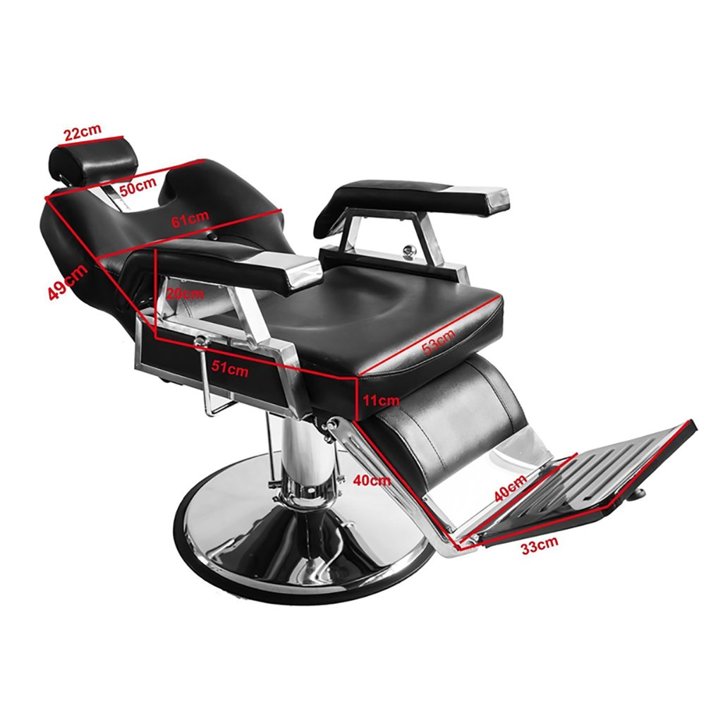 Astonishing Barber Chair Qivange Adjustable Reclining Leather Hairdressing Shaving Chair Styling Beauty Salon Chair Hydraulic Creativecarmelina Interior Chair Design Creativecarmelinacom