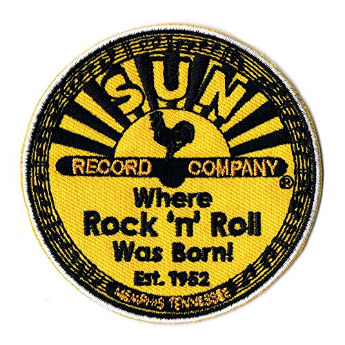 Lucky Patches Aufnäher/Iron on Patch The Sun Record Company Where Rock n Roll was Born