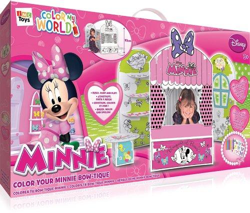 Disney 181229 Minnie Farbe Sie Ihre Bow-tique, Spielhaus