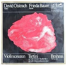 Violinsonaten von Tartini und Brahms [Vinyl LP] [Schallplatte]