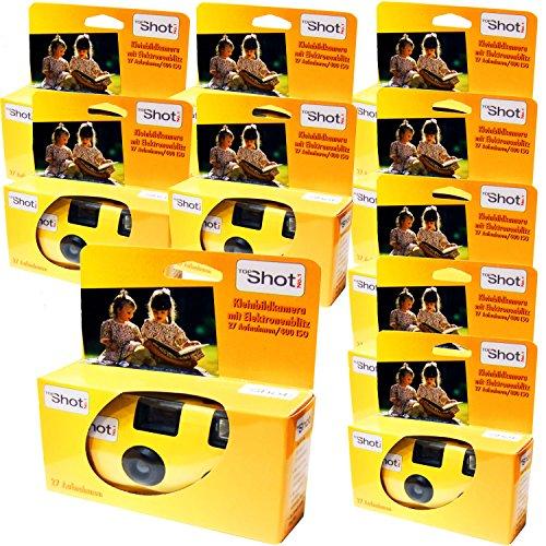 10x Edition Photo porst desechables Cámara/cámara boda/fiesta Cámara (27fotos, con flash y pilas)
