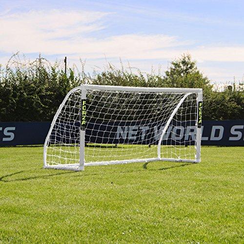 FORZA Match - 2,4 x 1,2 m wetterfestes Fußballtor. Neu: auch mit abnehmbarer Torwand bestellbar! [Net World Sports] (Forza Match 2.4x1.2m)