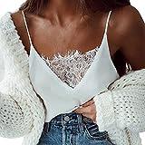 JUTOO Dawomen Spitze Weste Fashion Camisole Ärmelloses T-Shirt