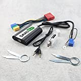 USB + SD + AUX Adapter für Audi Concert 1/2 Chorus 2 Symphony 1/2 Navigation MFD Plus (RNS-D)