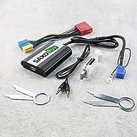 Adaptador USB, SD, AUX para Audi Concert 1/2Chorus 2Symphony 1/2Navegación MFD Plus (RNS-D)