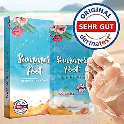 SUMMER FOOT Premium Fußmaske