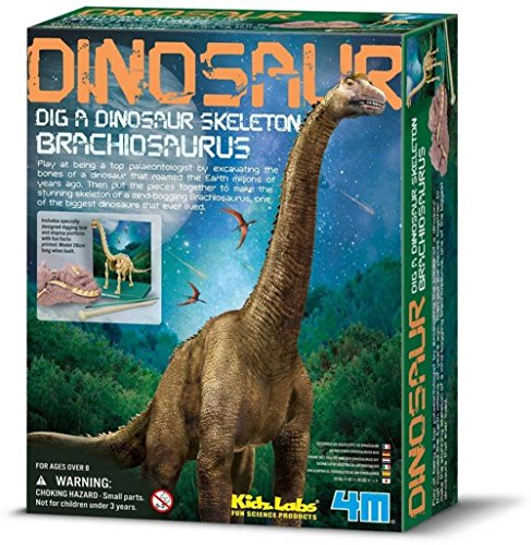4M - Dig A Brachiosaurus Skeleton Mundo Animal (00-03237)