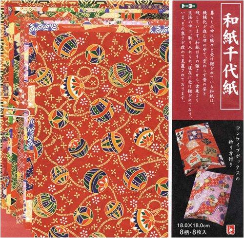 Toyo carta giapponese Chiyogami 18 (japan (Washi Chiyogami Carta)