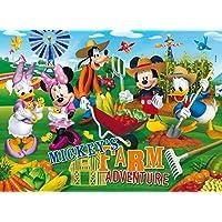 Clementoni Puzzle 26736 - La Casa di Topolino: Farm Adventure -  Maxi 60 pezzi