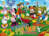 Clementoni 26736.1 - Puzzle Maxi 60T. Mickey Mouse Clubhouse: Farm Adventure