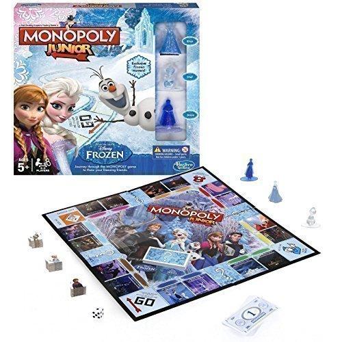 Disney Frozen - Jeu Monopoly Edition Frozen Reine